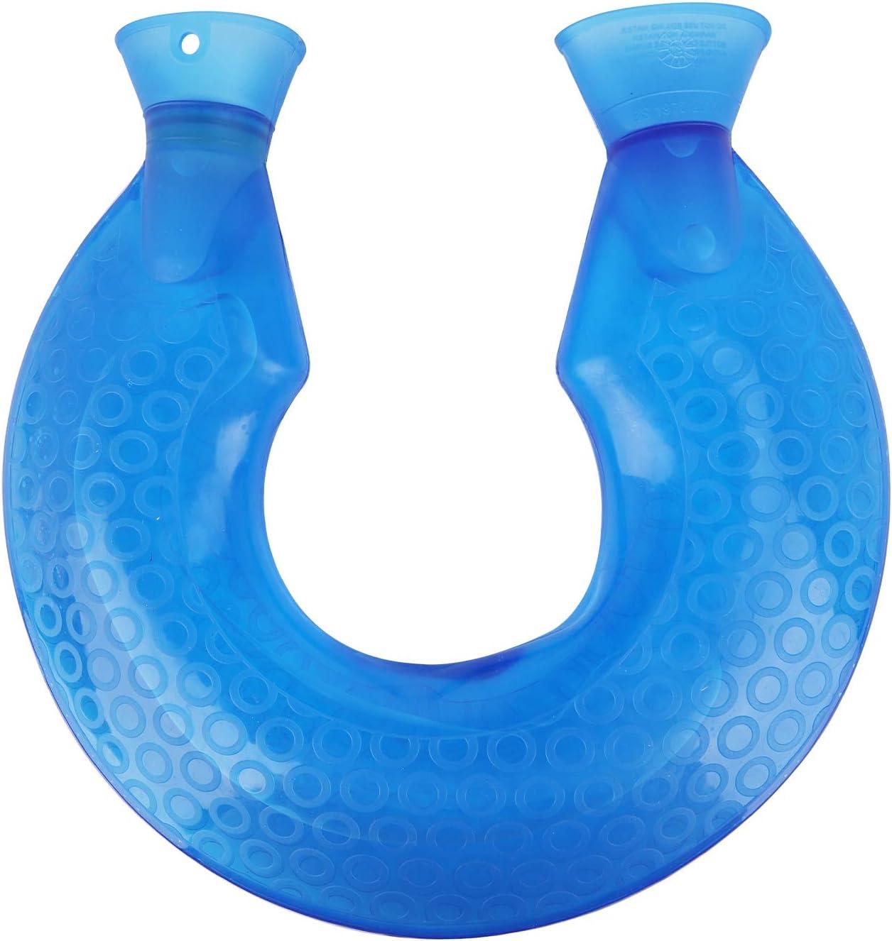 Hot Water Bottle, U Shaped PVC Explosion-Proof Hot Water Bottle