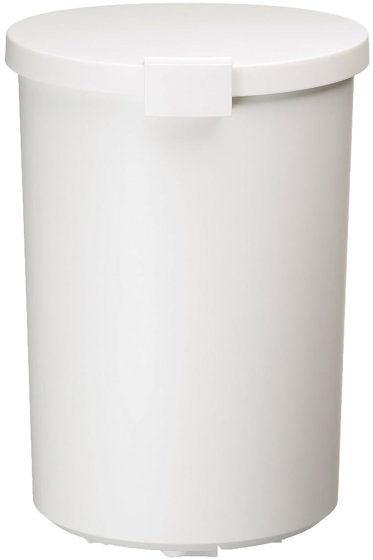 作者地下抵抗力があるI'mD (アイムディ) ゴミ箱 Kcud クード ラウンドロック ホワイト 12.4L KUDRL W