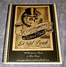Gentlemans Tattoo Flash Script Lettering Book (A Gentleman's Guide to Fine Script, Volume 1)