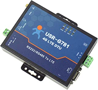 USR 4G LTE Modem USR-G781 Industrial Celluar Serial Modem Data Converter to Ethernet Support APN and VPN Network