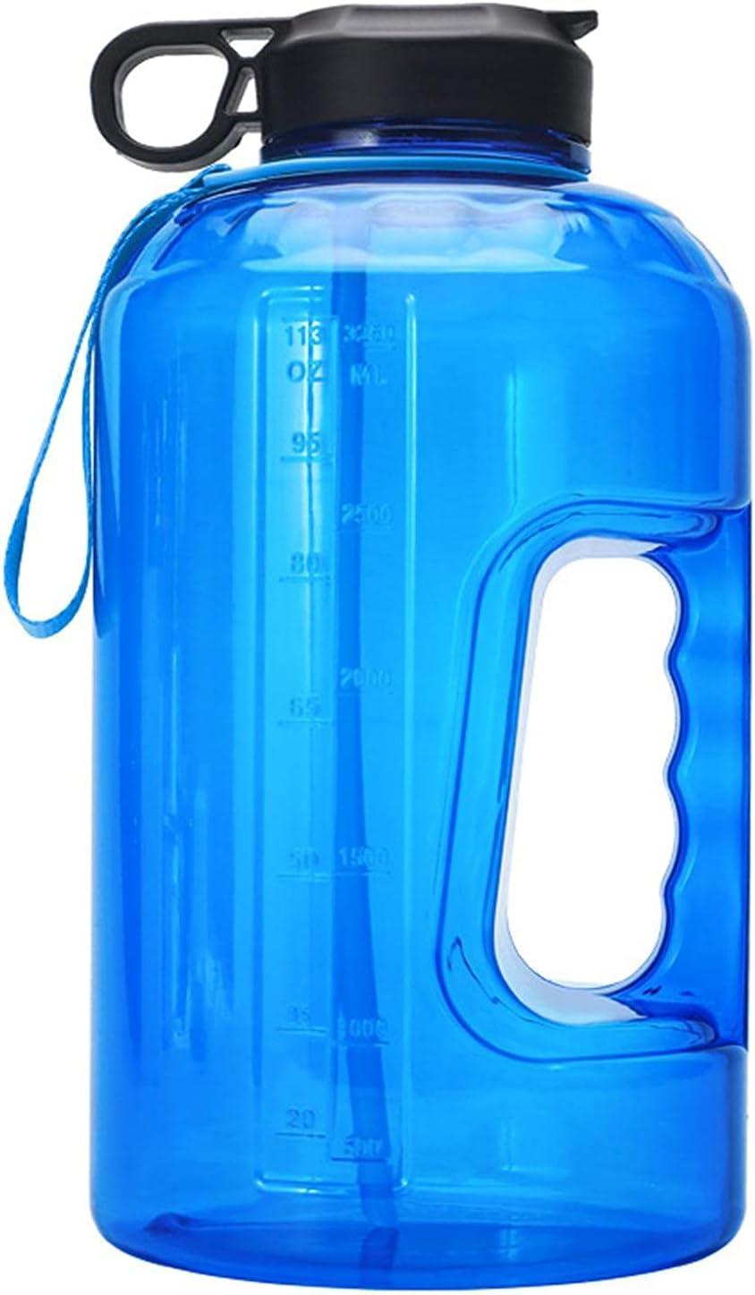 WuLL Dedication 1 Gallon Large Motivational Spo Bottle Sports Water Recommendation Plastic