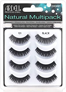 Ardell Natural Multipack Lashes - 101 Black 4 Pack