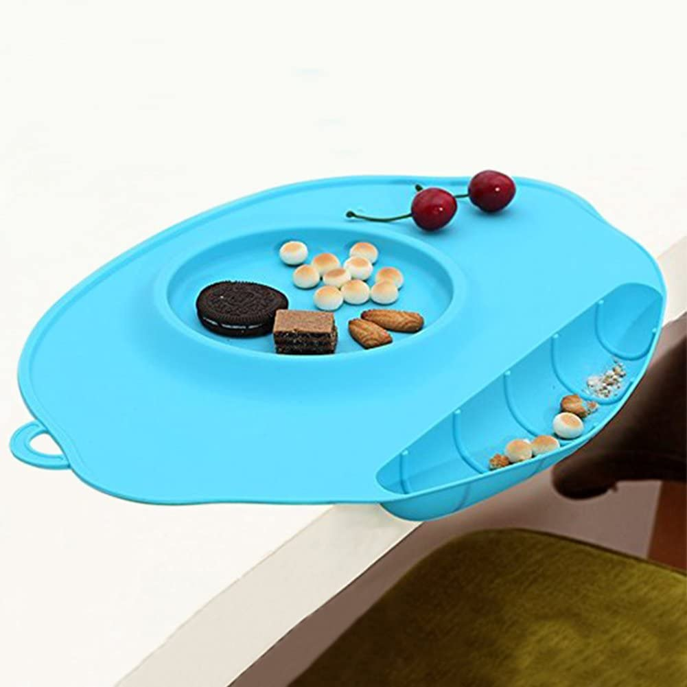 Seattle Mall TLHOME Sales results No. 1 Baby Placemat - Security Multifunction Silicone Food
