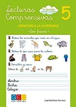 Lecturas comprensivas 5 / Editorial GEU / 1º Primaria / Mejora la comprensión lectora / Recomendado como apoyo / Actividades sencillas