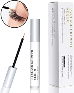 Eyelash Growth Serum, Eyelash Booster Natural Eyebrow Lash Enhancer, Rapid Brow Growing Treatment for Long Thick Looking Fuller Lashes and Eyebrows