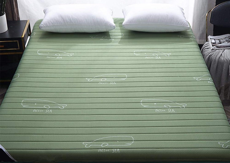 Tatami Mattress,Sleep Tatami mat,Sponge Mattress,Thick Warm Comfortable Non-Slip Breathable Floor-D 90x200cm(35x79inch)
