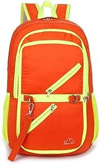 Suitable for Outdoor Activities Waterproof Outdoor Travel Storage Backpack (Color : Orange, Size : 40x22x23cm)