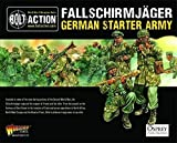 Warlord Fallschirmjager German Starter Army - Bolt Action Games - 28mm Minatures WWII Table Top Game