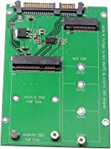 Moligh doll 2.5 M.2 NGFF MSATA 2-in-1 Multiple Sized SSD to SATA III Converter Card