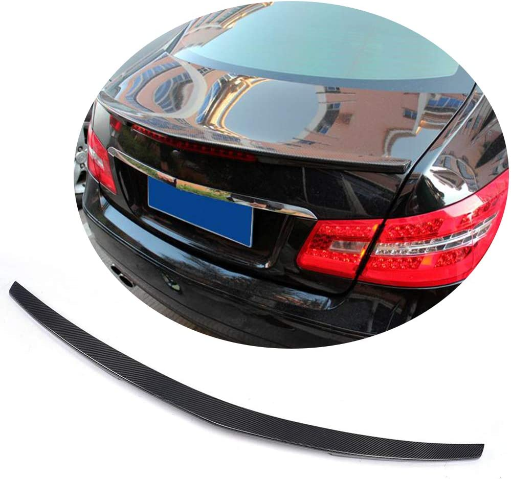 Jun-star Carbon Fiber Limited time for free shipping Rear Trunk Lip E Mercedes Limited time sale Spoiler Benz
