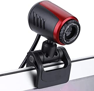 Unibell USB2.0 with MIC 16MP HD Webcam Web Camera Cam 360° for Computer PC Laptop for Skype/MSN