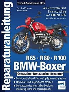 BMW Boxer R65, R80, R100: Alle Zweiventiler mit Einarmschwinge von 1980 bis 1996. Gebrauchte - Restauration - Reparatur