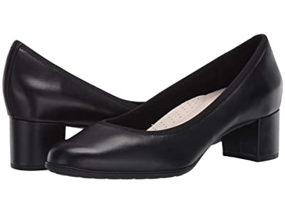 Aravon Career Dress Pump (Black Leather) Women