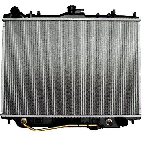 TUPARTS Repuesto de radiador de aluminio para 2002 2003 2004 Isuzu Axiom 3,5 L Sport Utility