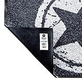Salonloewe Fußmatte Weihnachten Elch Rudi mit Laterne Schmutzfangmatte waschbar rutschfeste Fussmatte für Jede Haustür aussen + innen 50×75 cm anthrazit rot - 4