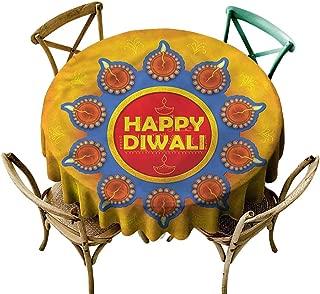 familytaste Diwali,Wholesale tablecloths Warm Colored Celebration D 60