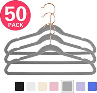 MIZGI Premium Kids Velvet Hangers (Pack of 50) 14