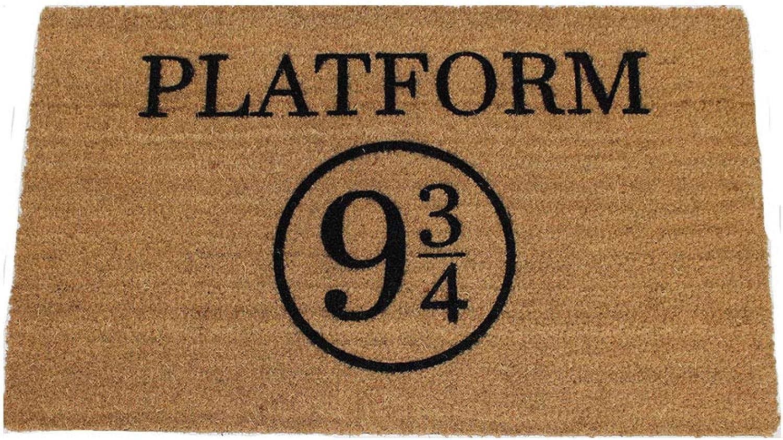 UncommonDoormats Platform 9 3 4 Harry Potter Doormat (18Wx30L)