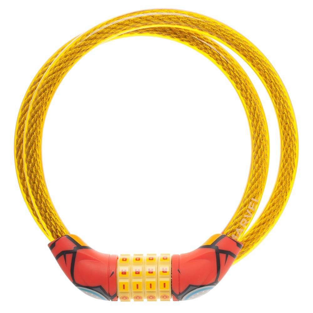 Marvel Comics Ironman Combination Best Bike Bicycle Steel Cable Lock