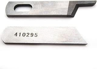 KUNPENG - #50143403+50145403 Upper + Lower Knife Blade fit for Bernina Bernette 003,004,334,700,800,1100 Juki MO300 Serger #50143403+50145403 1SET