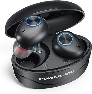 S9 Cuffie Bluetooth 5.0 Bassi Potenziati, Auricolari Bluetooth senza Fili IPX7 Impermeabili CVC 8.0 in Ear con Custodia da...