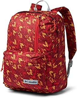 Columbia Sun Pass II Day Pack Laptop/Travel Backpack (One size, White/blue/red)