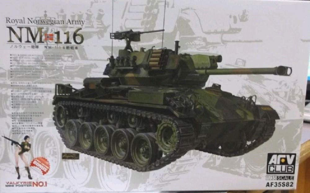 At the price of surprise AFV Club AFV35S82 1:35 Royal Norwegian MODEL Max 66% OFF Tank Army KI NM 116