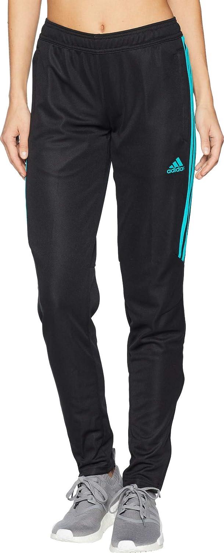 Adidas Women's Tiro '17 Pants Black HiRes Aqua Small 32 32