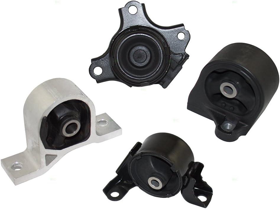 正規店 Brock 低価格 Replacement 4 Piece Set Engine Transmission Motor Mount