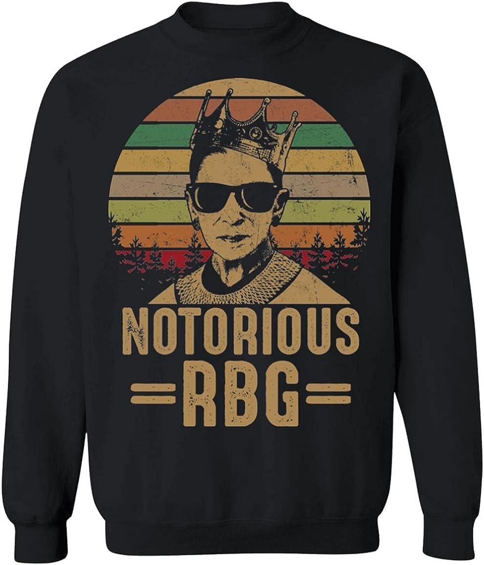 人気急上昇 Notorious RBG Vintage Hoodie - Sweatshirt いよいよ人気ブランド Sleeve Long Fe