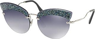 Miu Miu Sunglasse for Women, Cat Eye, Multi Color (0MU 58TS-D47148)