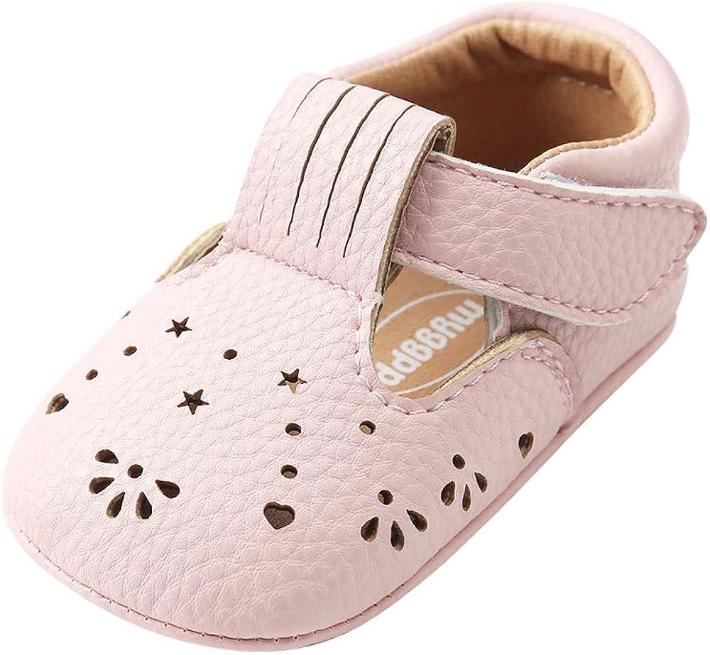 ESTAMICO Baby Boys Girls Toddler Sneaker Anti-Slip First Walkers Crib Shoes