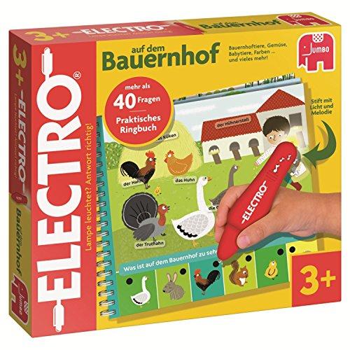 """Preisvergleich Produktbild Jumbo Spiele 19532 - Electro Wonderpen """"Auf dem Bauernhof"""" - Lernspiel"""
