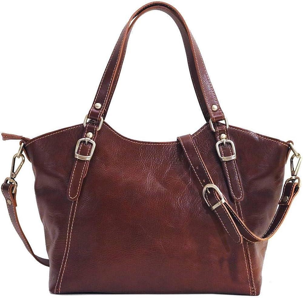 Floto Arlington San Francisco Mall Mall Ischia Leather Shoulder Purse Bag Handbag