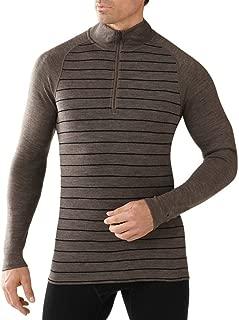 Smartwool Men's Base Layer Top - Merino 250 Wool Pattern Active 1/4 Zip
