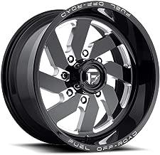 22X12.0 Fuel 1-Piece Wheels Turbo Wheel -43Mm Conical Lug Type 8X180 Nb-Blkmil