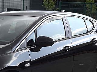 Derivabrisas Deflectores de Aire Cortavientos de Viento Delanteros para el 500L 500 L de 5 Puertas Desde 2012 Car Lux AR05403