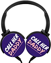 MagicQ Call Her Daddy 5 Stereo Deep Bass Wired Headphones Earphones