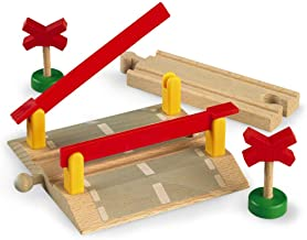 BRIO World - 33388 Railway Crossing   4 Piece Toy Train Accessory for Kids Ages 3 and Up