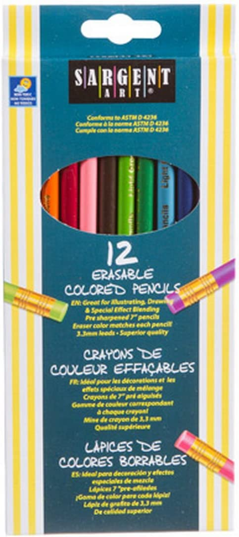 Sgt Erasable Houston Mall Colored Penc Size Ranking TOP5 12ct Pencils