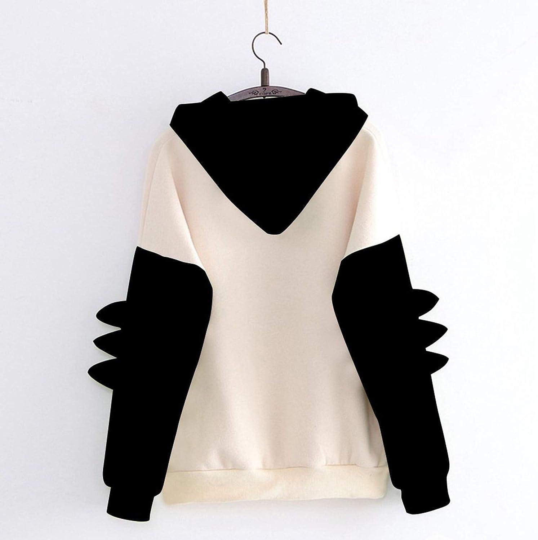 POLLYANNA KEONG Sweatshirts for Women Hoodie,Cute Frog Graphic Kawaii Long Sleeve Casual Pullover Tops Blouses