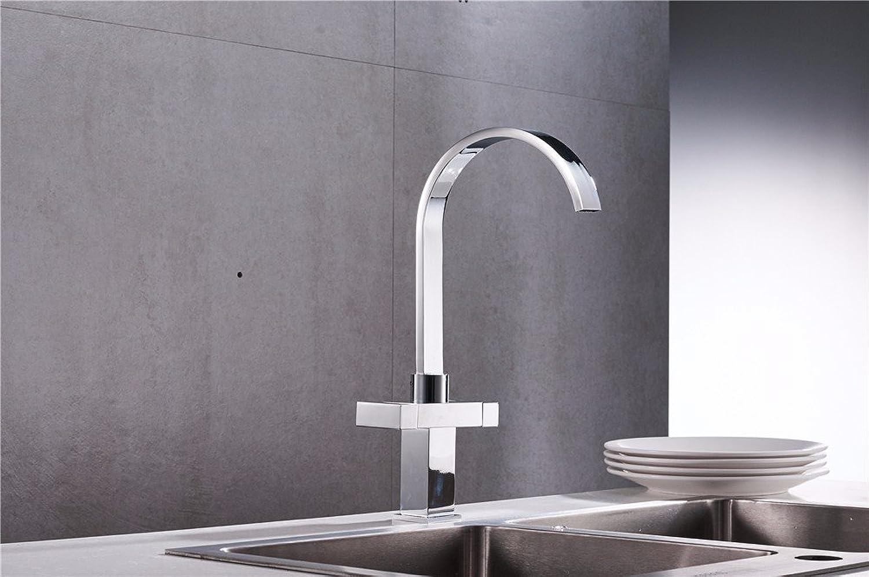 Lvsede Bad Wasserhahn Design Küchenarmatur Niederdruck Vintage Chrom Edelstahl Wasserfall Reinem Kupfer I221