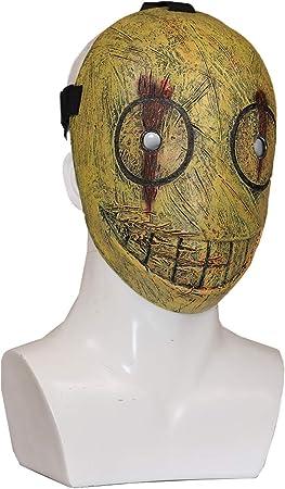 Chiefstore Legion Frank Masque Jeu Cosplay Costume Visage Complet Casque R/éplique pour Adultes Hommes Halloween Carnaval D/éguisements V/êtements Accessoires Blanc