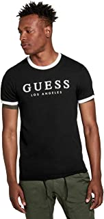 GUESS Factory Men's Kirk Logo Crewneck Short-Sleeve Tee