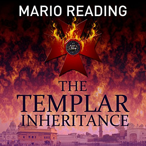 The Templar Inheritance audiobook cover art