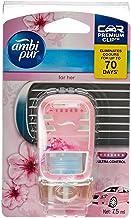 Ambi Pur Premium Clip Car Air Freshener For Her 7.5mL