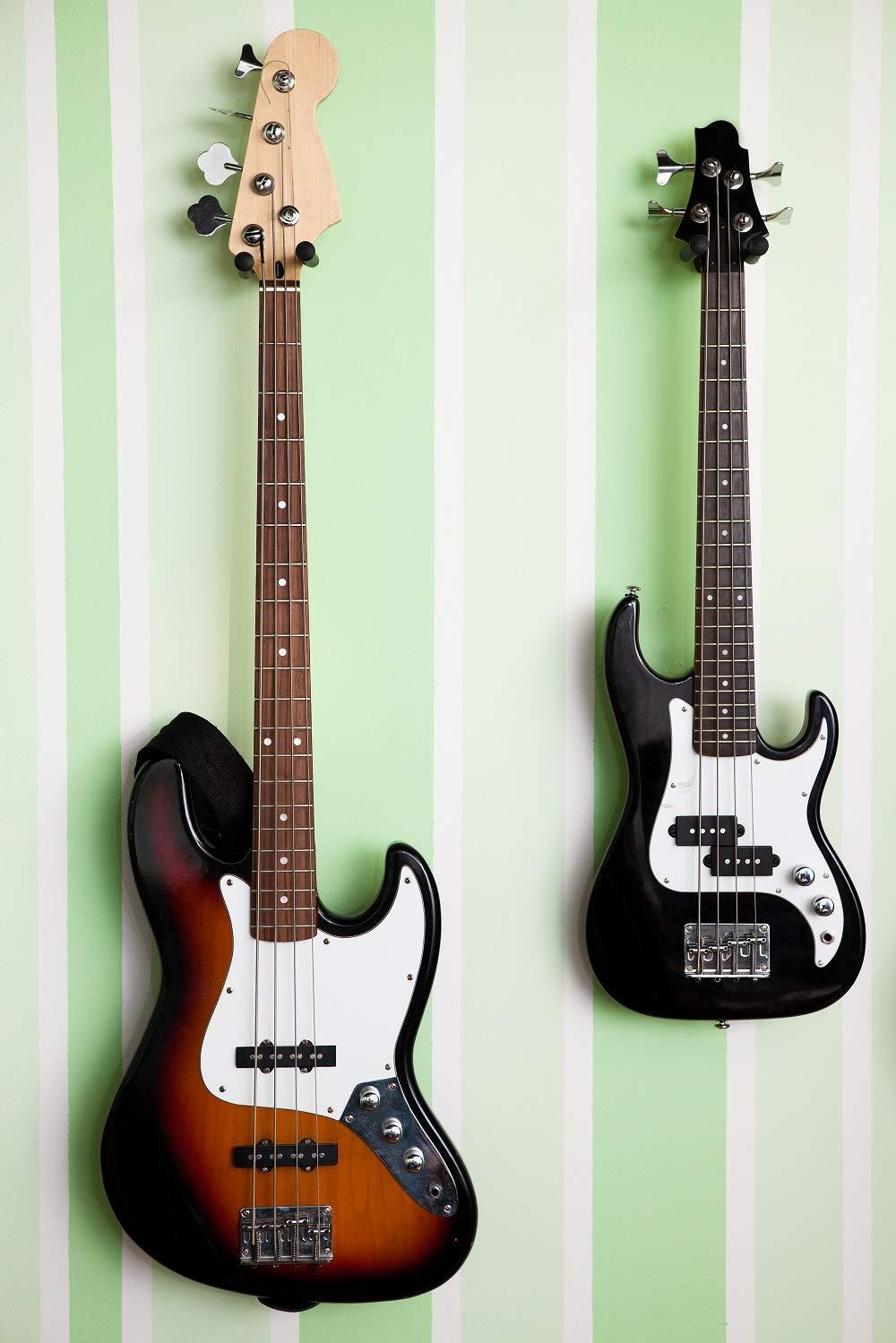 Soporte de montaje en pared para guitarra Ohuhu, 2 paquetes ...