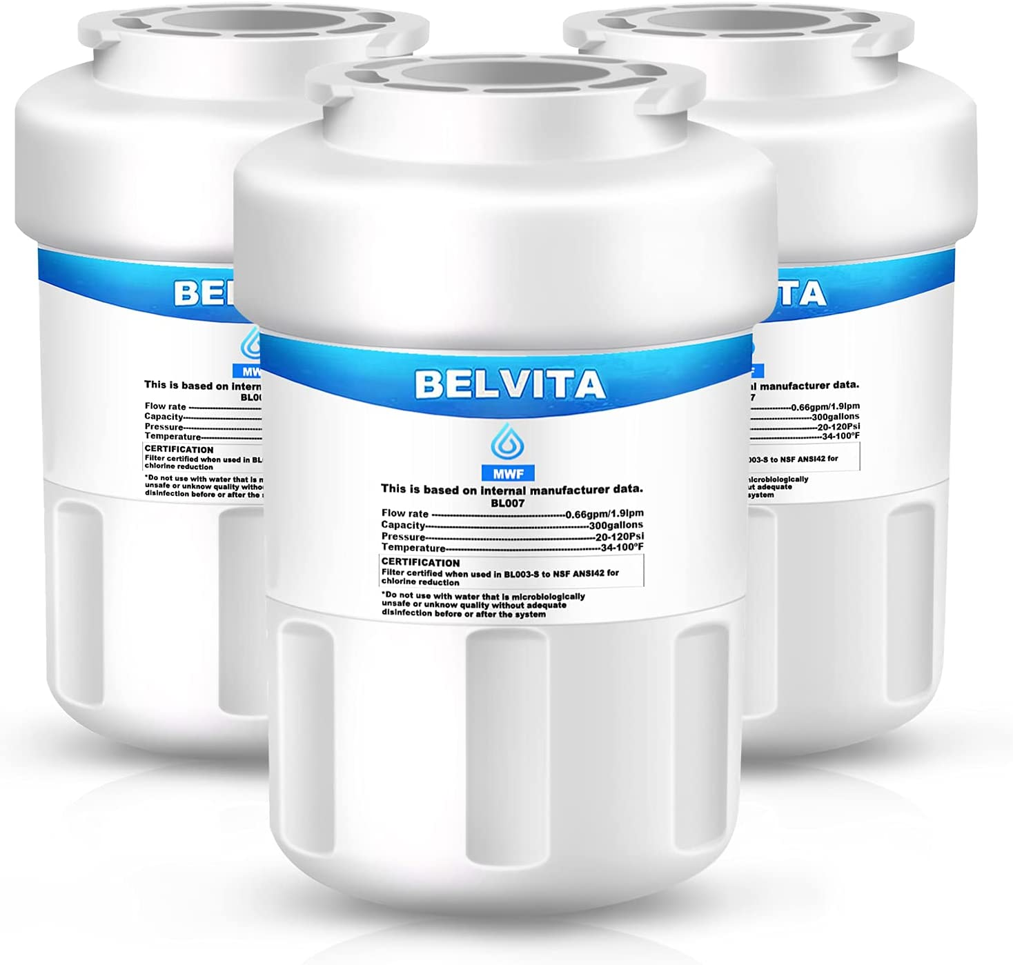 BELVITA MWF Refrigerator Water Filter MW New product!! with GE Compatible Very popular