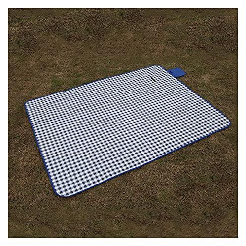 HJHQQ-CZYHG Manta de Picnic al Aire Libre Alfombra de la Alfombra Engrosada de la Alfombra Engrosada para Acampar Senderismo Hierba Viajar Parque de césped, Paño de Oxford y PVC (Size : 150x200 cm)
