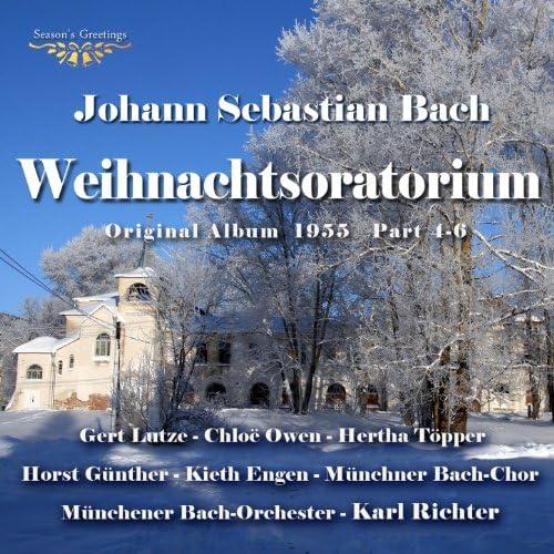Gert Lutze, Chloë Owen, Hertha Töpper, Horst Günther, Kieth Engen, Münchner Bach-Chor, Münchener Bach-Orchester & Karl Richter